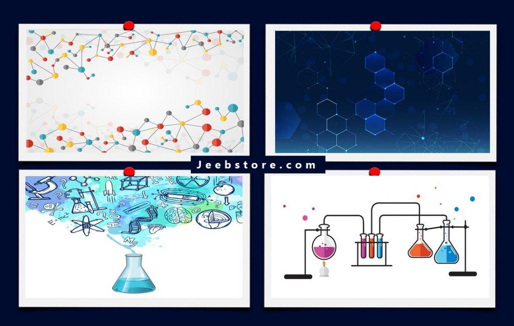پس زمینه پاورپوینت شیمی